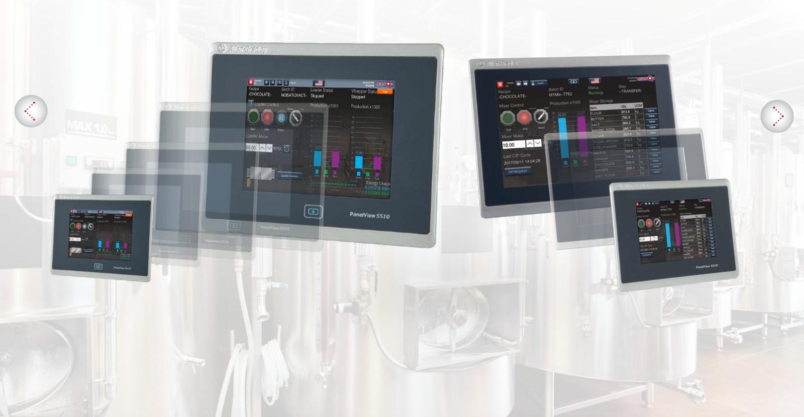 Rockwell HMI Paneller bir çok boyutta eksizsiz bir HMI ürün serisi sunar.